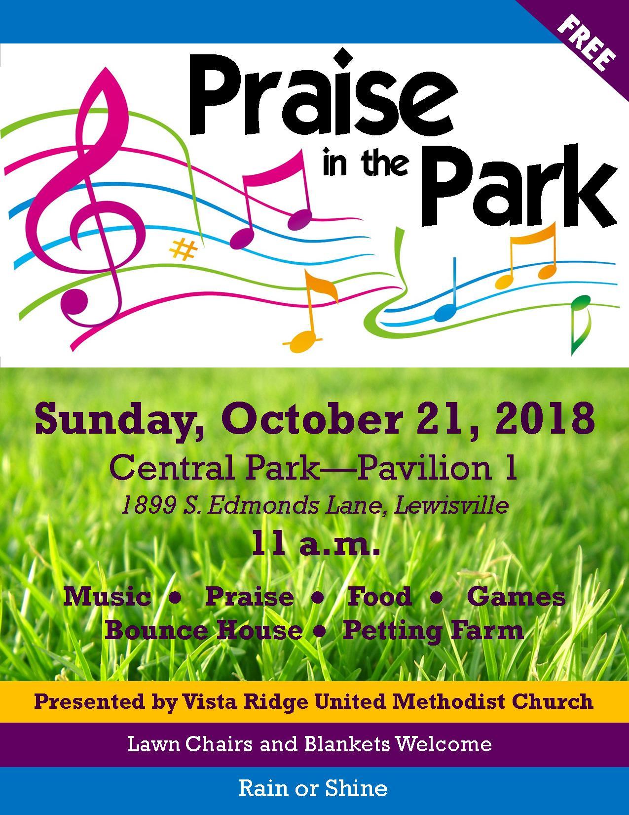 News and Events » Vista Ridge United Methodist Church