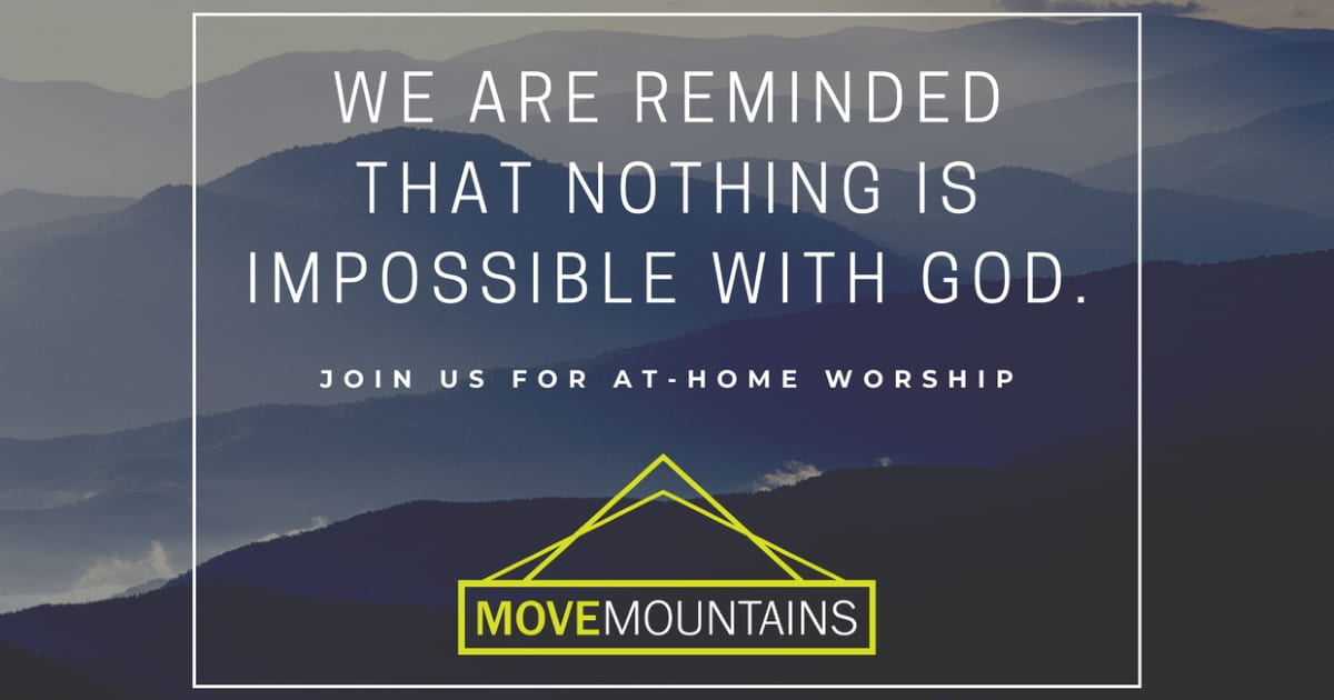 Move Mountains Nothing is Impossible with God