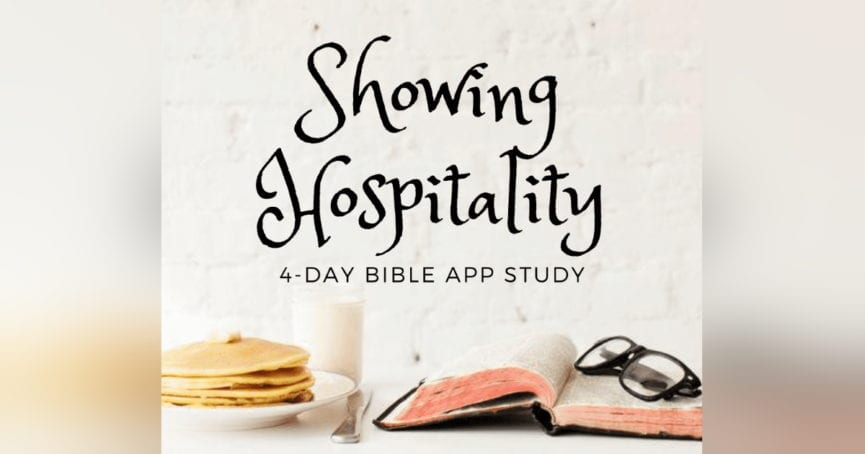 Showing Hospitality