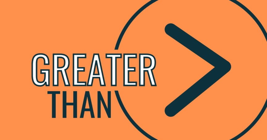 Greater Than worship series