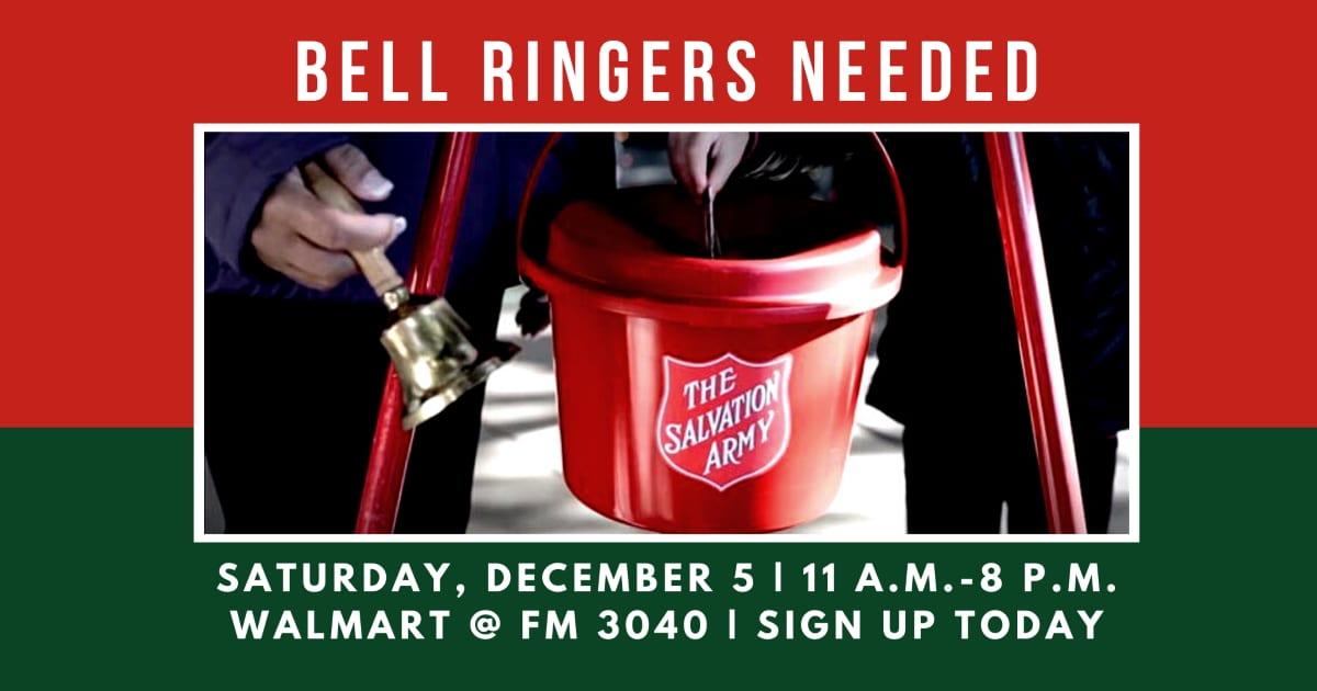 Bell Ringers Needed