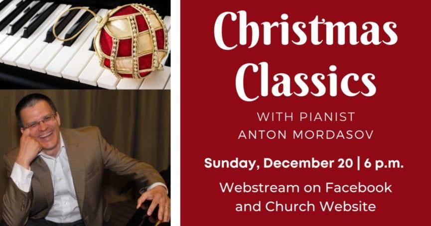 Christmas Classics with Pianist Anton Mordasov