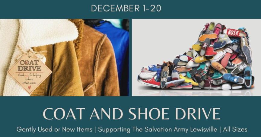 Coat and Shoe Drive