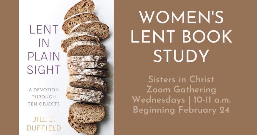 Women's Book Study Lent in Plain Sight