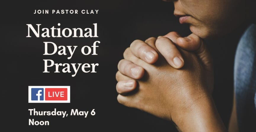 National Day of Prayer May 6, 2021