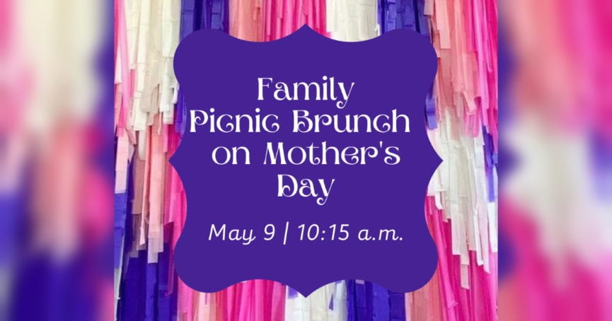 Family Picnic Brunch on Mother's Day