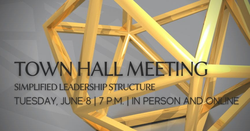 Town Hall Meeting June 8, 2021