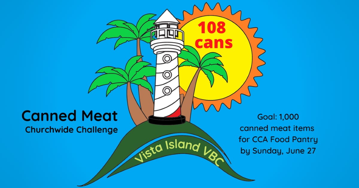 VBC Canned Meat Challenge 108 cans