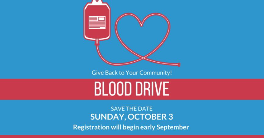 Blood Drive October 3, 2021