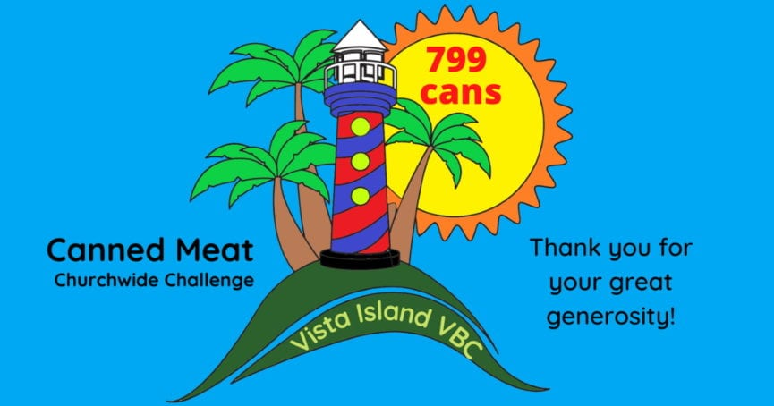 VBC Canned Meat Challenge 799 cans