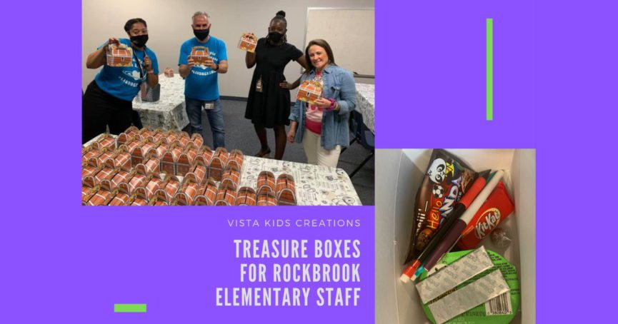 treasure boxes for Rockbrook