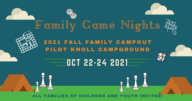 2021 Fall Family Campout