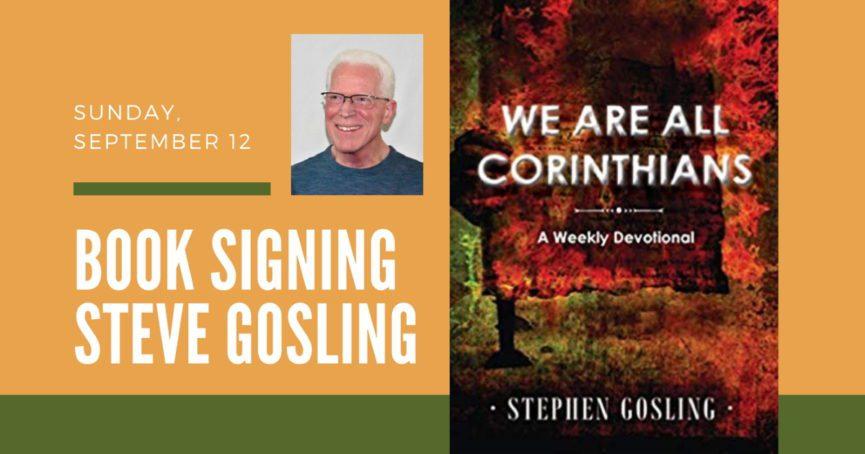 Steve Gosling Book Signing