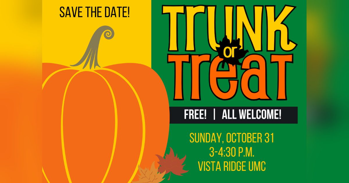 Trunk or Treat 2021 save the date
