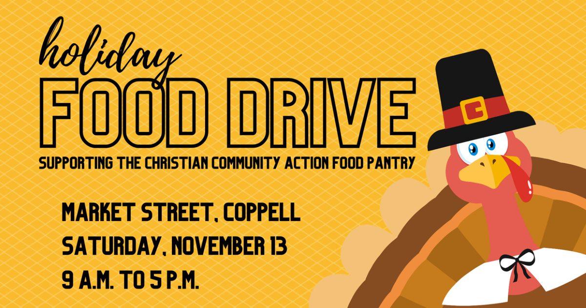 Holiday Food Drive November 13, 2021